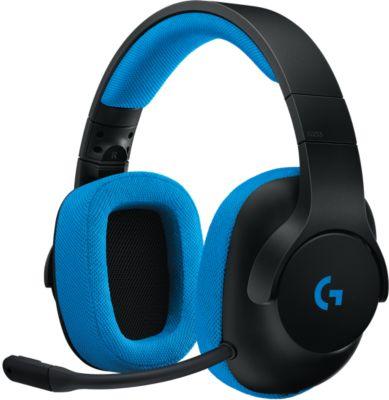 Casque gamer Logitech G233 Prodigy Noir/Bleu
