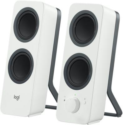 Enceinte PC Logitech Z207 Blanc Bluetooth