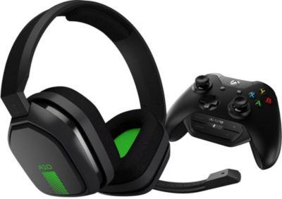 Casque gamer Astro Casque Gaming A10 Gris/Vert + MixAmp M60