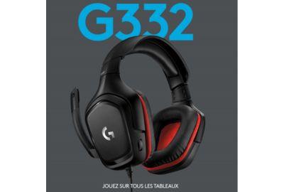 Casque micro LOGITECH G332