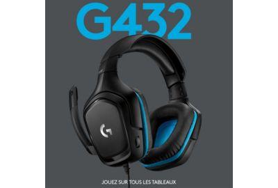 Casque micro LOGITECH G432