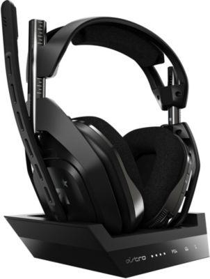 Casque gamer Astro A50 sans fil PS4 + Station d'accueil