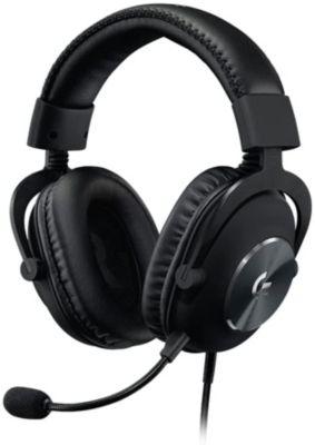 Logitech PRO X Gaming Headset Noir Casque Micro | Boulanger