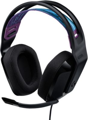 Casque gamer Logitech G335 Black