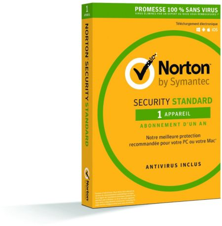 Logiciel PC  SYMANTEC Norton Security 1 poste