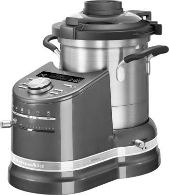 kitchenaid cook processor 5kccf0104ems 5 gris etain robot cuiseur boulanger. Black Bedroom Furniture Sets. Home Design Ideas