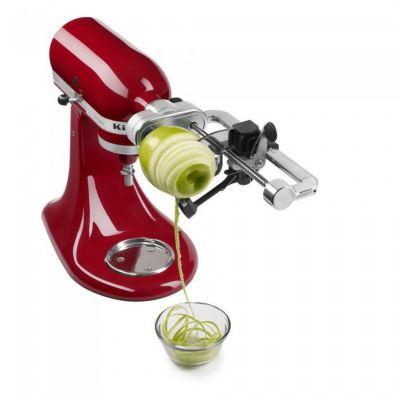 kitchenaid 5ksm1apc d coupeur en spirales accessoire robot de cuisine boulanger. Black Bedroom Furniture Sets. Home Design Ideas