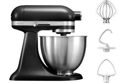 Robot pâtissier Kitchenaid mini 5KSM3311XEBM Noir réglisse