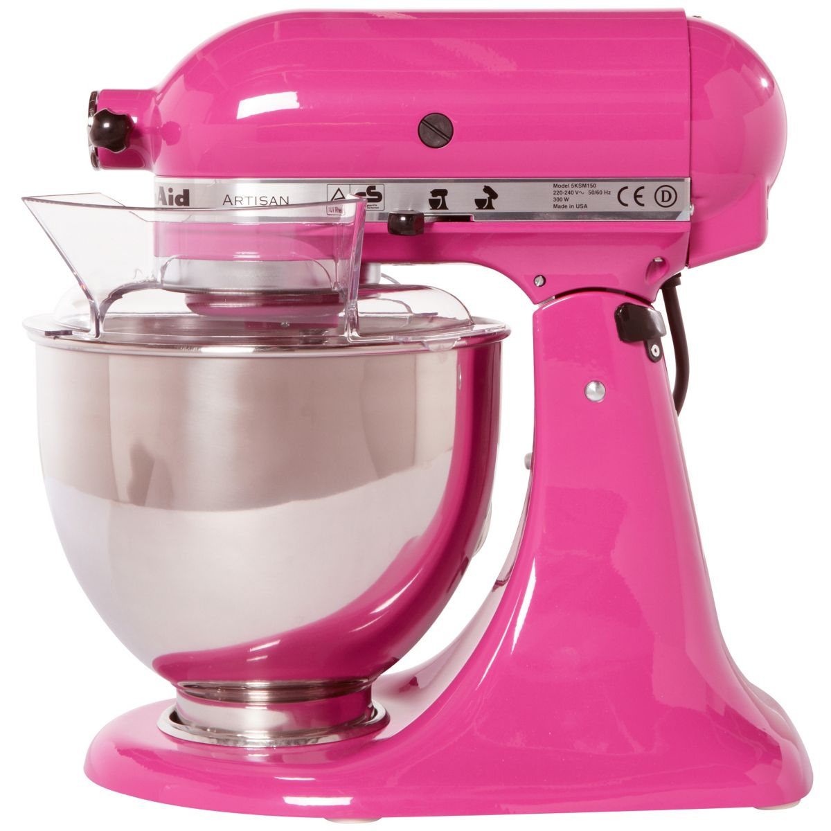 Robot Sur Socle 5ksm150ps Ecb Rose Fuschia Artisan Kitchenaid