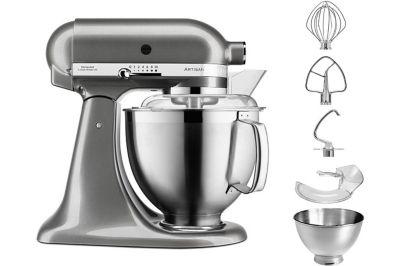 Robot pâtissier Kitchenaid 5KSM185PSEMS ARTISAN gris étain