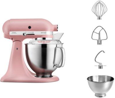 Robot pâtissier Kitchenaid 5KSM185PSEDR ARTISAN rose poudré