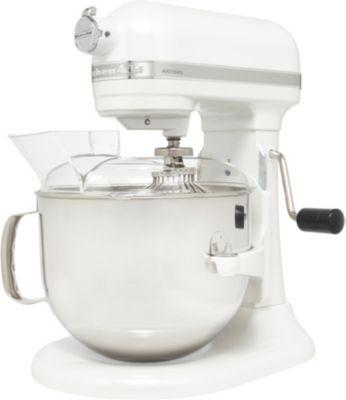 kitchenaid 5ksm7580xefp blanc givre artisan robot. Black Bedroom Furniture Sets. Home Design Ideas