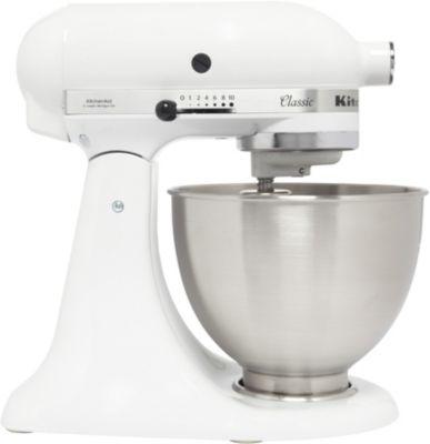 robot p tissier kitchenaid 5k45ss ewh blanc classic boulanger. Black Bedroom Furniture Sets. Home Design Ideas