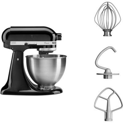 kitchenaid 5k45ss eob noir classic robot p tissier boulanger. Black Bedroom Furniture Sets. Home Design Ideas