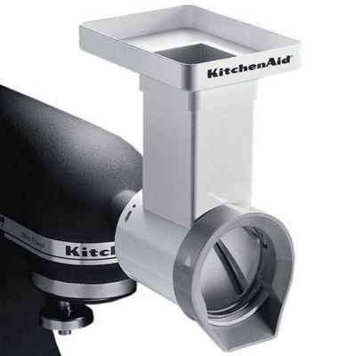 Accessoire robot de cuisine kitchenaid mvsa tranchoir rape for Robot cuisine kitchenaid