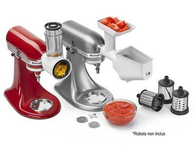 Kitchenaid 5ksmfppc 5fsvfga fvsp 5ksmvsa accessoire - Robot cuisine boulanger ...