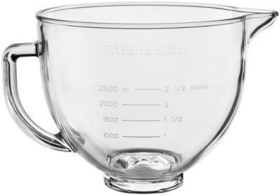 Bol Kitchenaid 5KSM5GB Bol verre pour robot ARTISAN