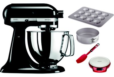 Robot KITCHENAID 5KSM125EOB + BAKING SET