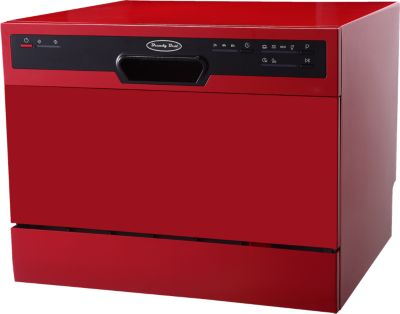 Mini lave vaisselle Brandy Best FLASH6R (Rouge)