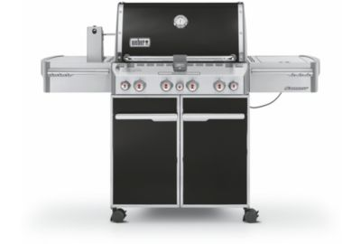 Barbecue WEBER SUMMIT E470 noir intense