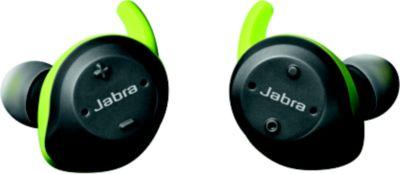 Casque Sport Jabra Elite Sport 4.5h gris et vert