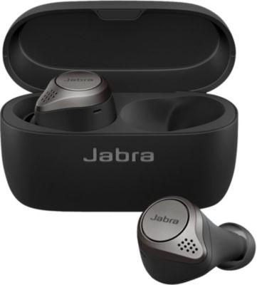 Ecouteurs Jabra Elite 75T Charge sans fil Titanium Noir