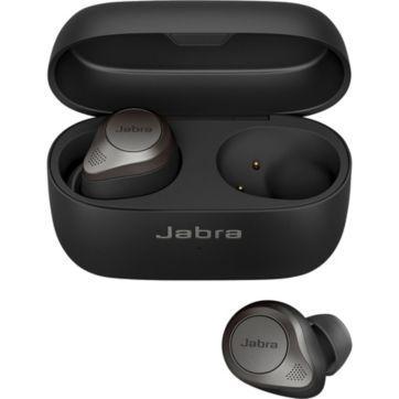 Ecouteurs JABRA Elite 85t Charge sans fil & ANC Titanium