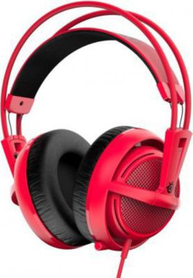 Casque gamer Steelseries Siberia 200 Forged Red