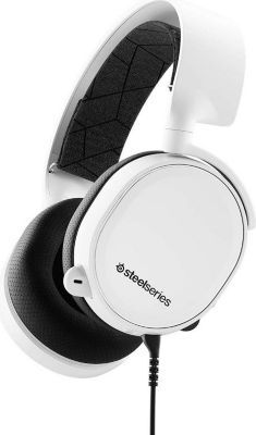 Casque gamer Steelseries ARCTIS 3 BLANC 2019 EDITION