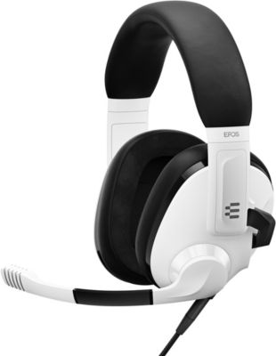 Casque gamer Epos Filaire micro H3 White