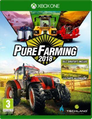 Jeu Xbox One Koch Media Pure Farming 2018 - Day 1 Edition