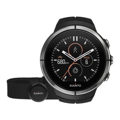 Montre sport GPS Suunto Spartan Ultra Chest noire HR