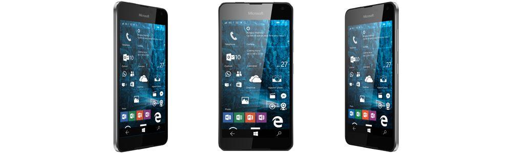 Microsoft Lumia 650 Windows 10