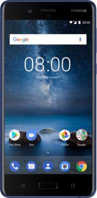 Smartphone Nokia 8 Bleu