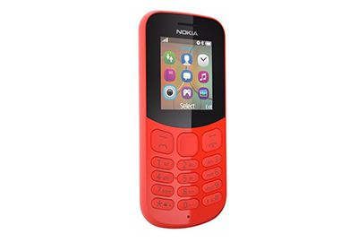 Mobile NOKIA 130 Rouge DS