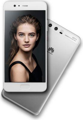 Smartphone Huawei P10 Argent + Etui Huawei P10 View flip dark grey