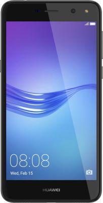 Smartphone Huawei Y6 2017 Gris + Coque Huawei Y6 2017 rigide