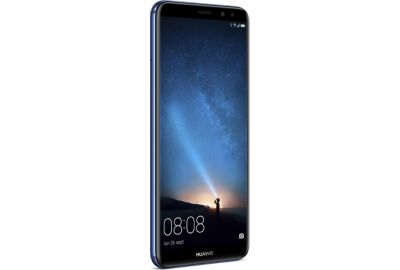 smartphone huawei mate 10 lite blue. Black Bedroom Furniture Sets. Home Design Ideas
