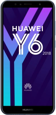 Smartphone Huawei Y6 2018 Bleu