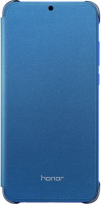 Etui Honor 8X Flip Cover bleu
