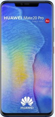 Smartphone Huawei Mate 20 Pro Bleu Nuit