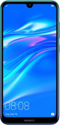 Smartphone Huawei Y7 2019 Bleu Aurora