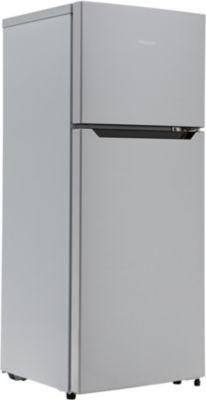 Réfrigérateur 2 portes Hisense RT156D4AG1 + Micro ondes Essentielb EM232m inox