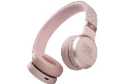 CasqueBluetooth JBL Live 460 NC Blanc