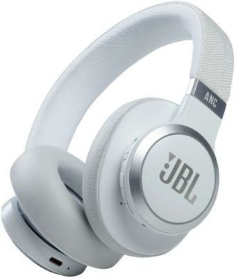 Casque JBL Live 660 NC Blanc