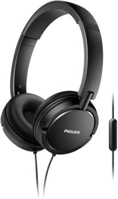 Casque Arceau Philips SHL5005 noir