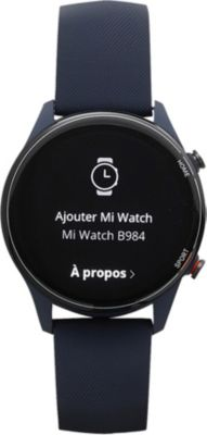 Montre connectée Xiaomi Mi Watch Bleu