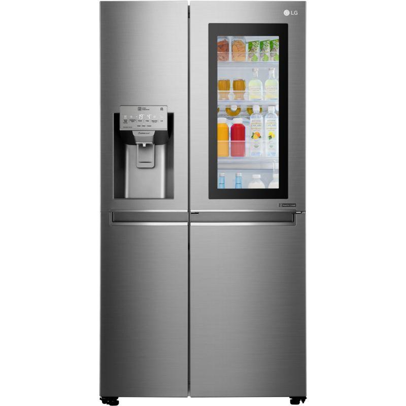 Réfrigérateur Américain LG GSKSC Instaview - Frigo americain 1 porte distributeur de glacons