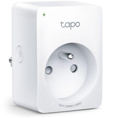 Prise connectée Tp-Link Tapo P100 Wifi Pack de 2