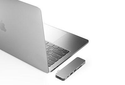HUB HYPER Drive Solo Hub 7 en 1 MacBook Argent